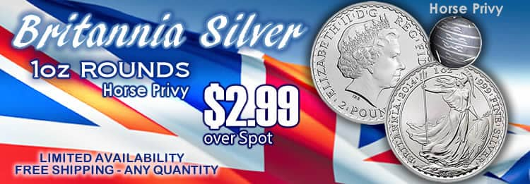 Britannia Silver horse privy biggest blowout